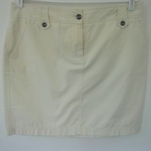 TOMMY BAHAMA Women's Off-White Skirt Size 12
